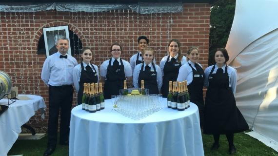A Windsor Wedding - Hospitality Staff