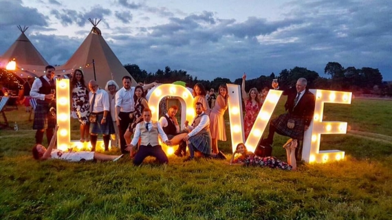 Tipi Wedding - Hospitality Staff