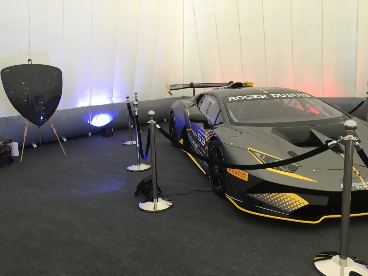 Lamborghini Launch